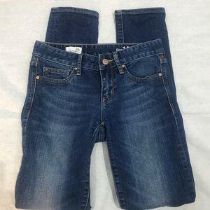 Gap 1969 Always Skinny Distressed Jeans 24x29